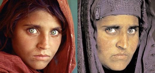 mc curry ragazza afgana fotografia prima e dopo